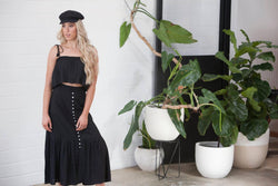 Romance Maxi Skirt - BlubellaFashion