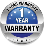 12 month product warranty logo