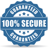 Secure online shopping website logo