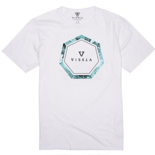 Header Vintage Wash Tee White