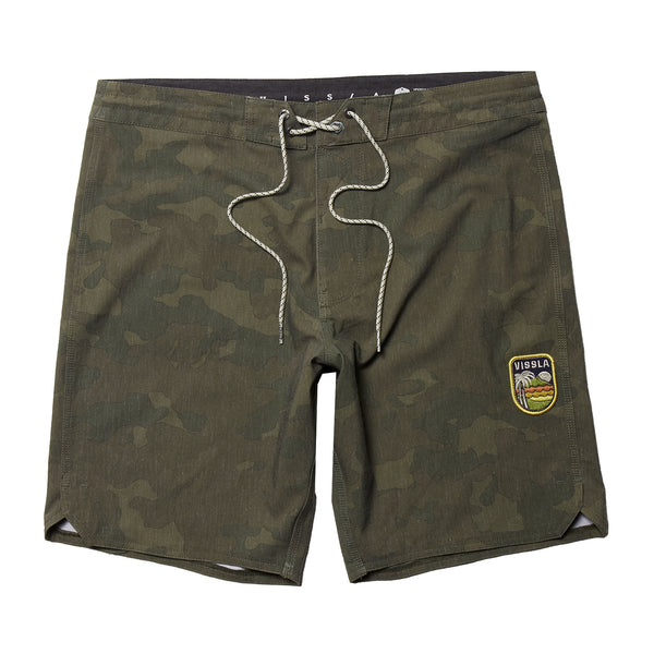 "Solid Sets 18.5"" Boardshort Camo"