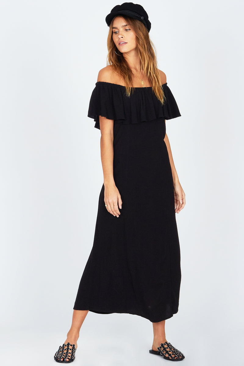 Vista Del Valle Dress Black Sands
