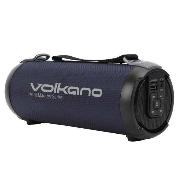 Volkano Mamba Series Bluetooth Wireless Speaker Blue -Bluetooth Speaker