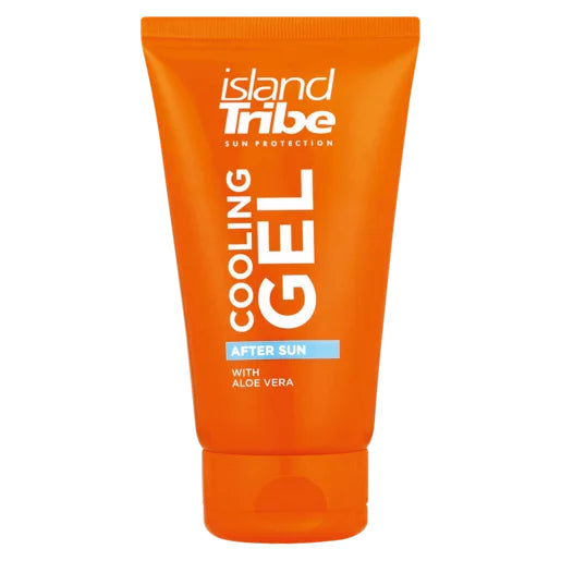Island Tribe Aftersun Gel with Aloe Vera 125ml