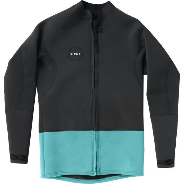 Vissla 2mm Front Zip Jacket Phantom