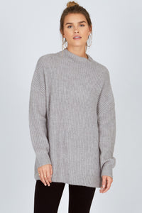 Lets Snuggle Sweater Grey - The Store Stuff