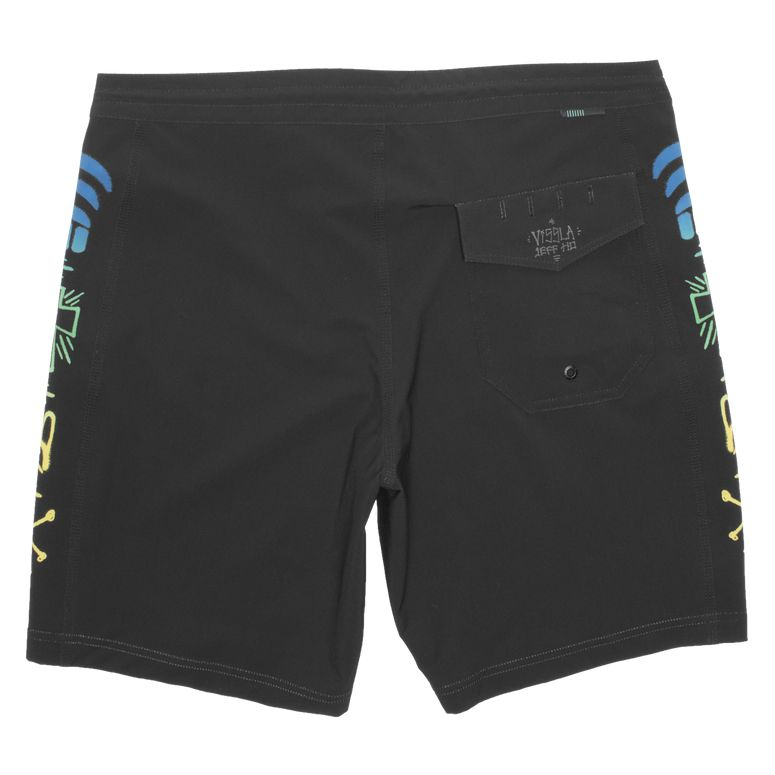 "Jeff Ho Zephyr 18.5"" Boardshort Black"