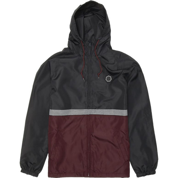 Dredges II Windbreaker Burgundy
