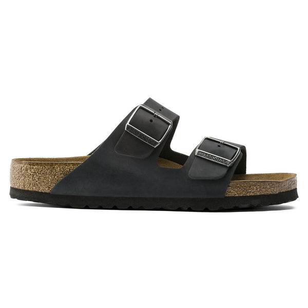 Arizona Soft Footbed Oiled Nubuck Leather Regular Black