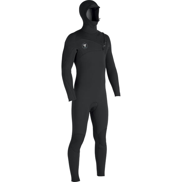 7 Seas 5/4/3 Hooded Full Suit Black With Jade