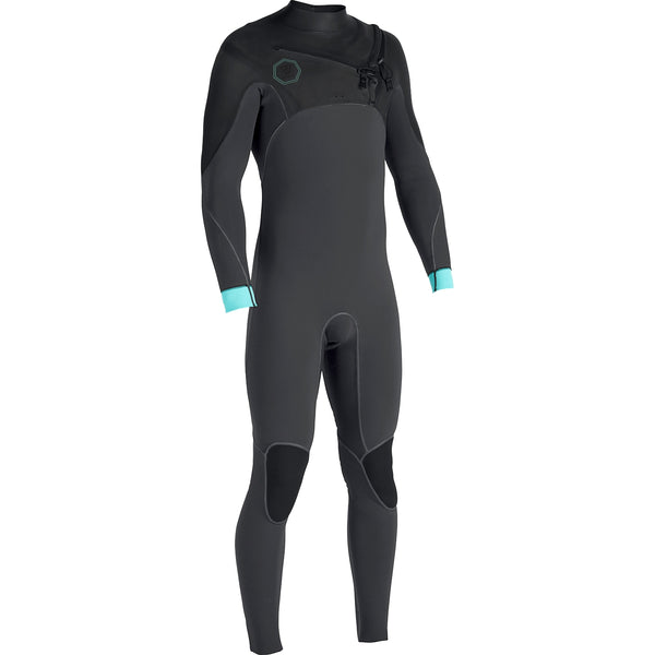 North Seas 4/3 Full Suit Dark Grey Smoothy