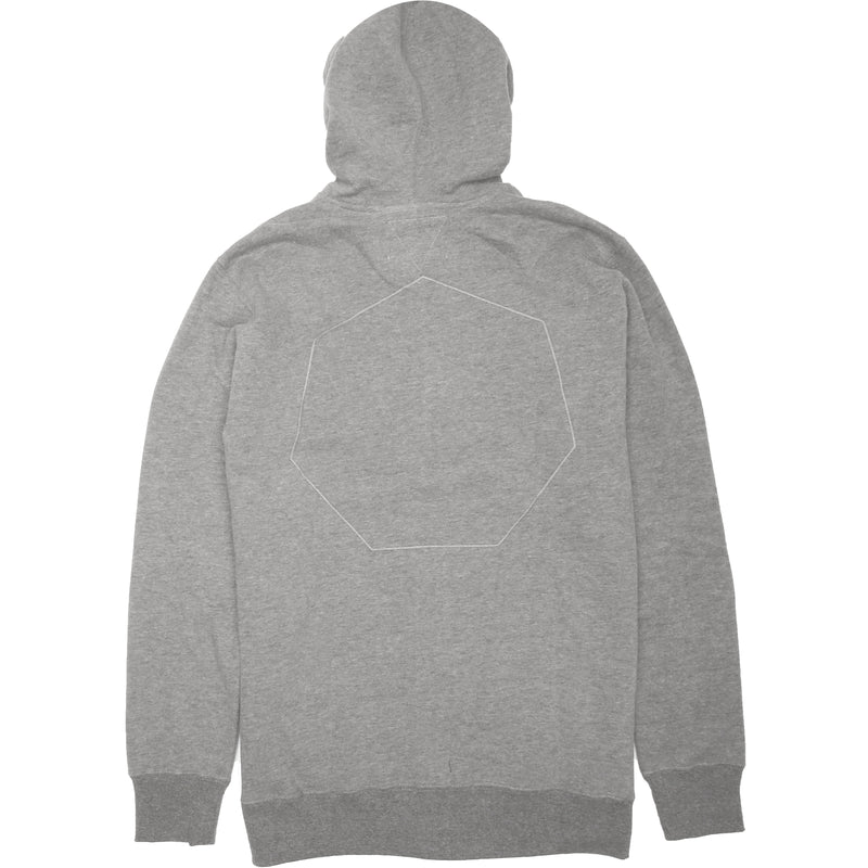 Palisades Zip Hoodie Light Grey Heather