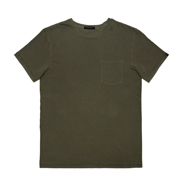 AGT Fashion Tee Olive Wash