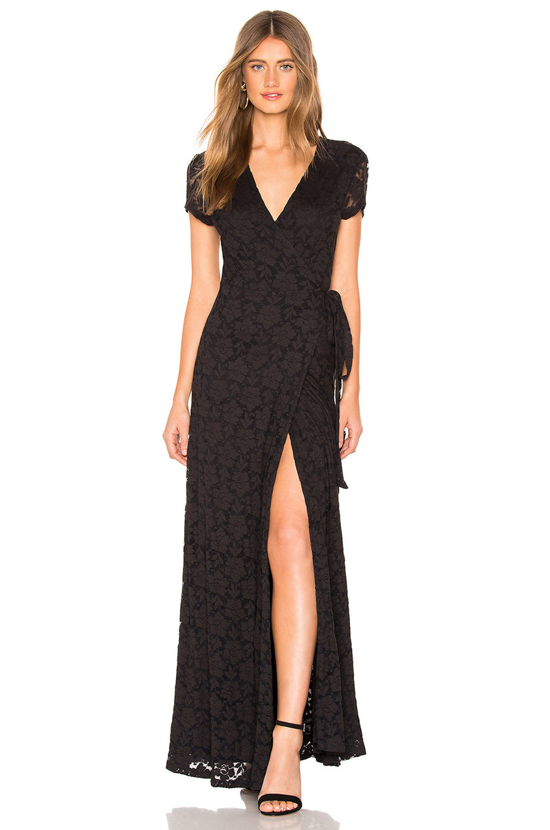 Great Lengths Dress Black