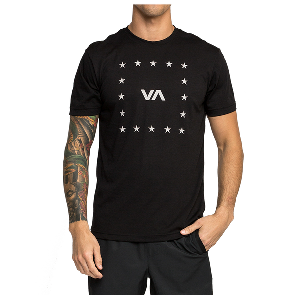 VA Corners Performance T-shirt Black