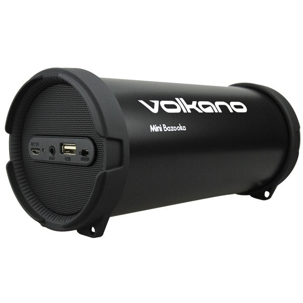 Volkano Mini Bazooka Series Bluetooth Aux Usb Fm R