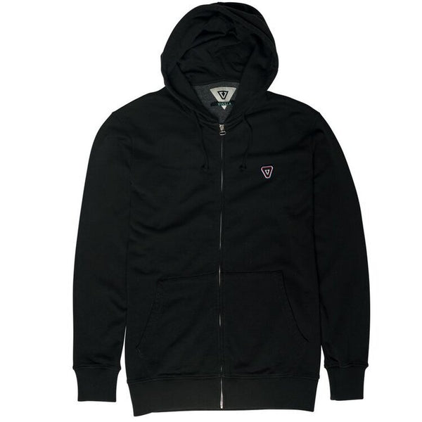 Tripper Zip Fleece Black