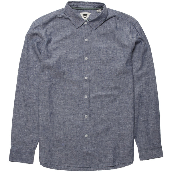 Coastlands Chambray LS Eco Woven