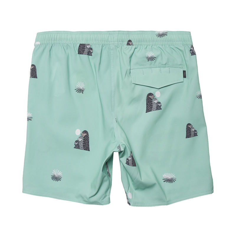 "Outside Sets 17.5"" Eco-Lastic Boardshort Mint"
