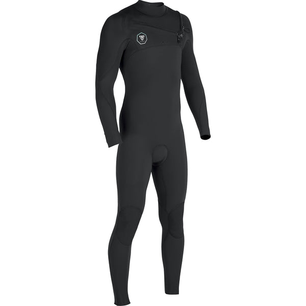 7 Seas 4/3 Full Suit Black With Jade