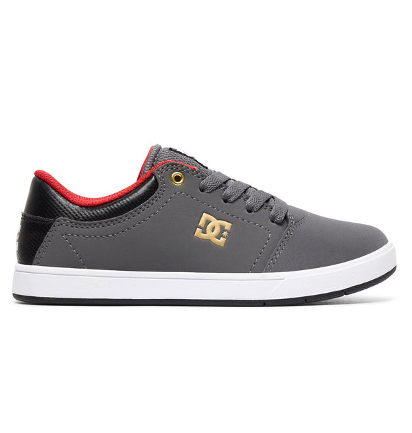 Kids Crisis Shoes Grey/Black/Red
