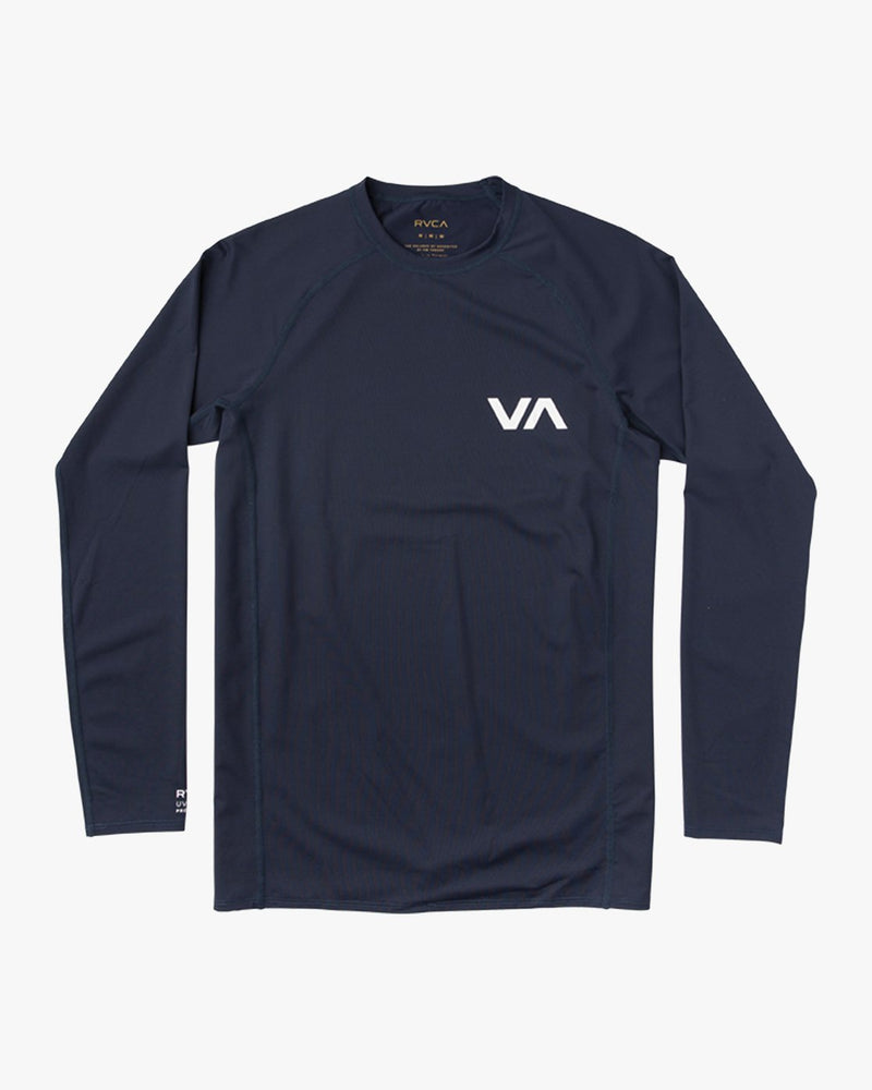 Boys Long Sleeve Rashguard Navy