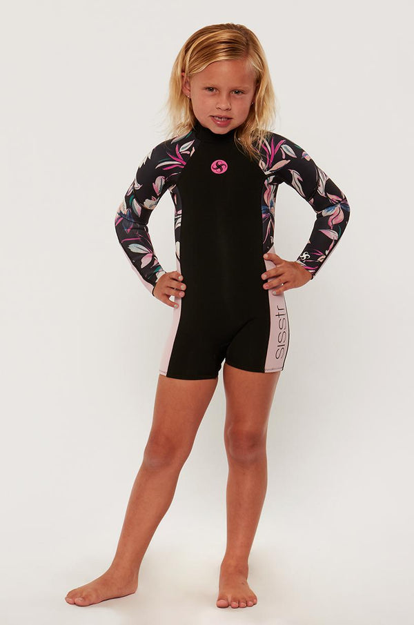 7 Seas 2/2 Girls Long Sleeve Spring Suit