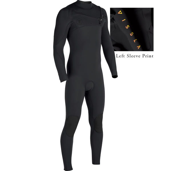 7 Seas Tripper 4/3 Full Suit Black