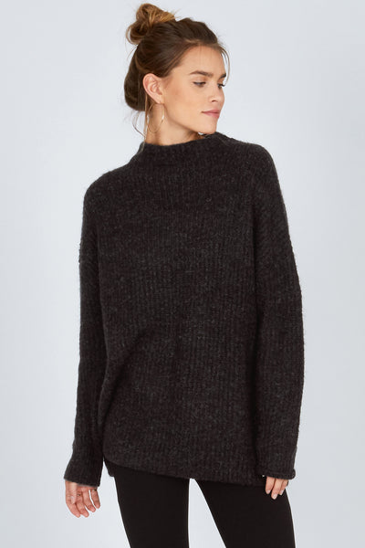 Lets Snuggle Sweater Black - The Store Stuff