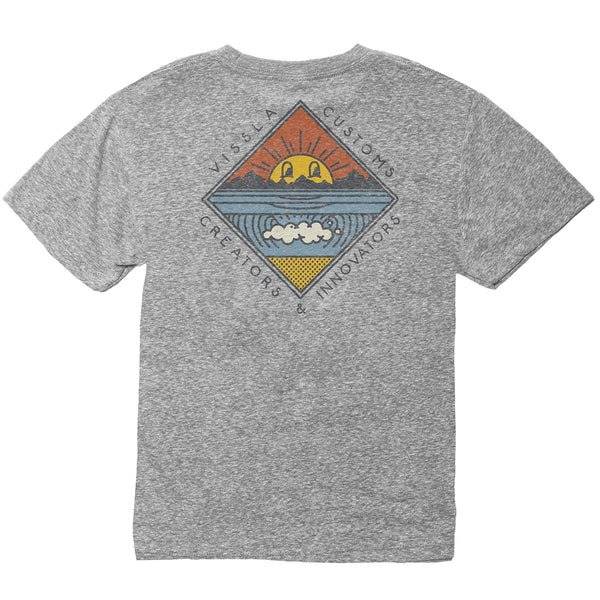 Warming Boys Tee Grey Heather