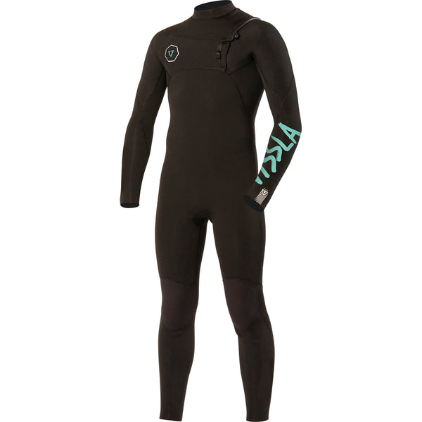 7 Seas 4/3 Boys Full Suit Black