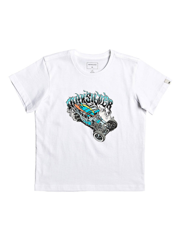Muscle Car Tee Boys White