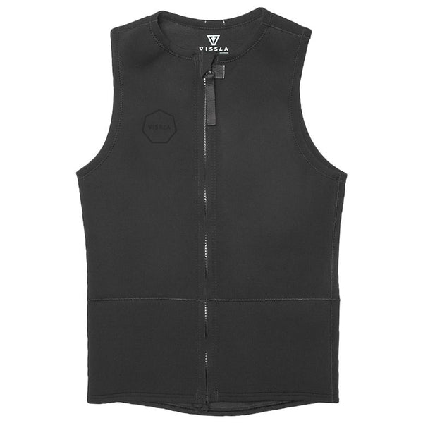 Vissla 2mm Front Zip Vest Stealth