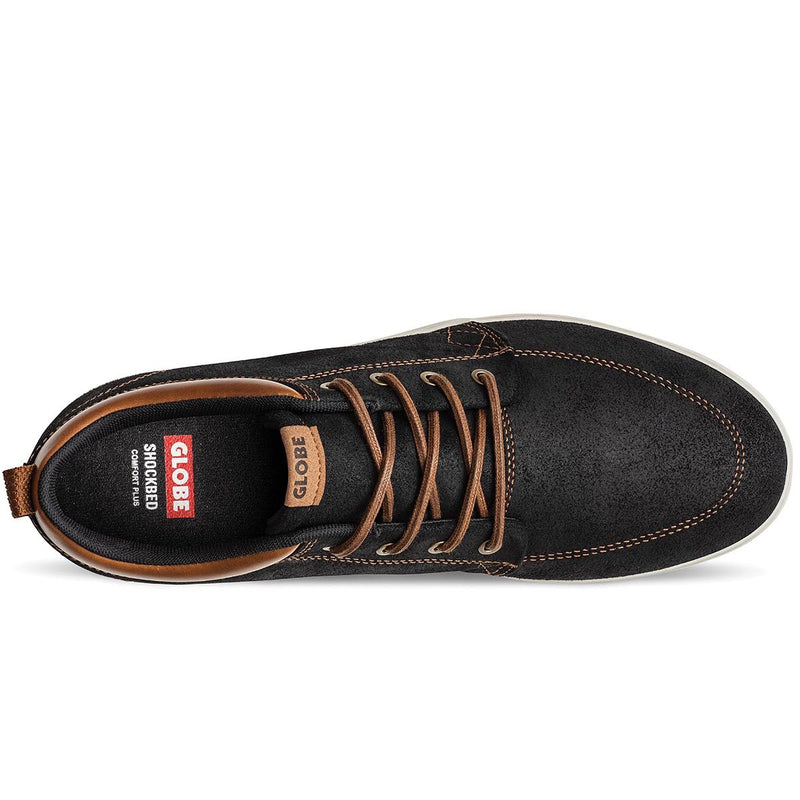 Gs Chukka Black/Toffee/Antique