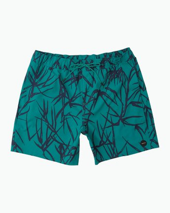 Rvca Miles Elastic Trunk Light Teal