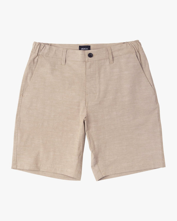 "All Time Coastal 19"" Hybrid Short Dark Khaki"