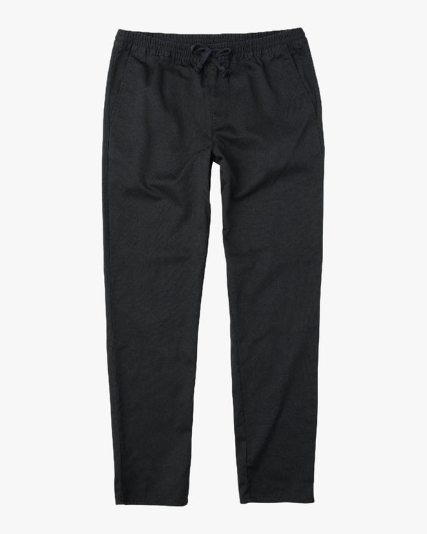 A.T Dayshifter Elastic Pants Pirate Black - The Store Stuff