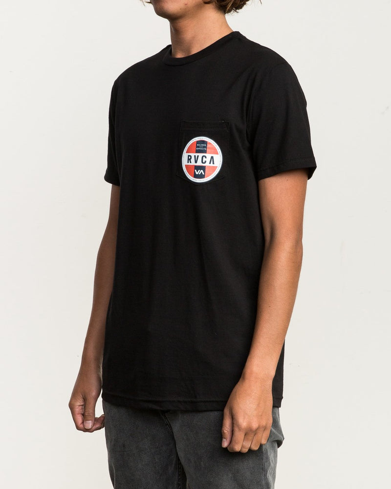 Indobrok Pocket T-shirt Black