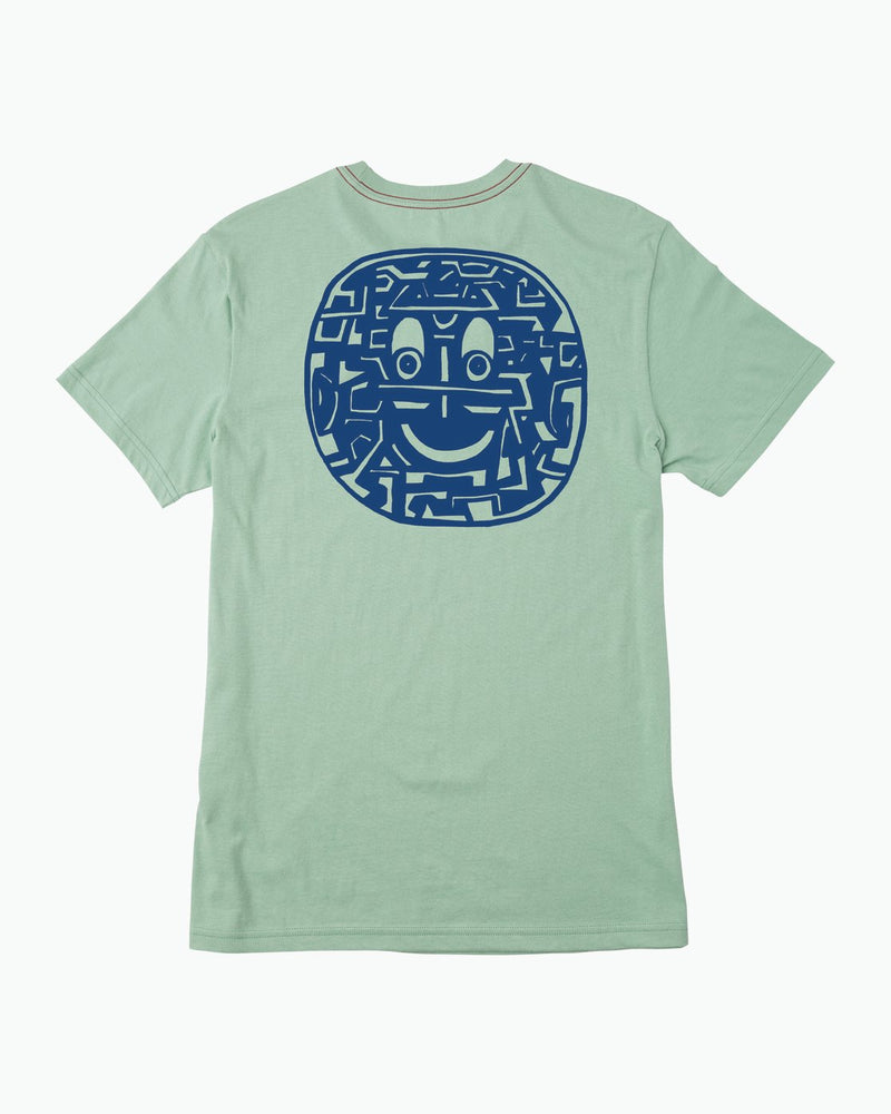 Grillo Smile T-shirt Green Haze