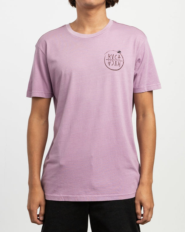 Ben Horton Hivemind T-Shirt Lavender - The Store Stuff