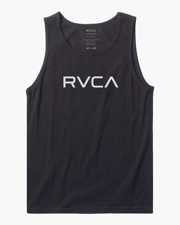 Big RVCA Tank Top Black