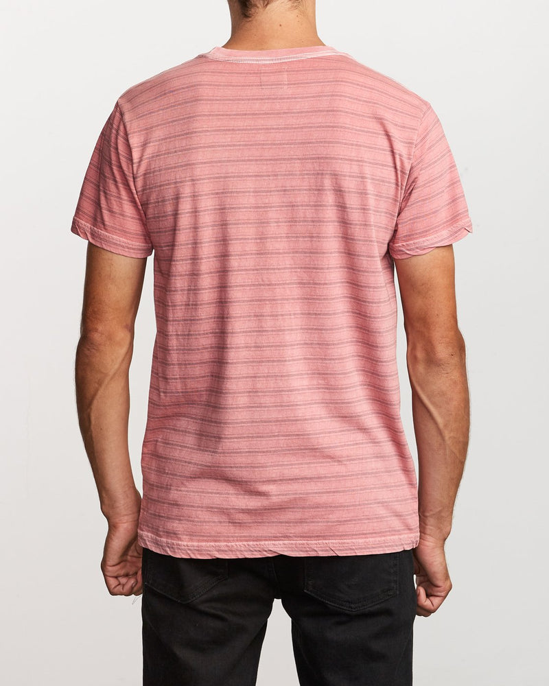 Saturation Stripe Knit T-Shirt