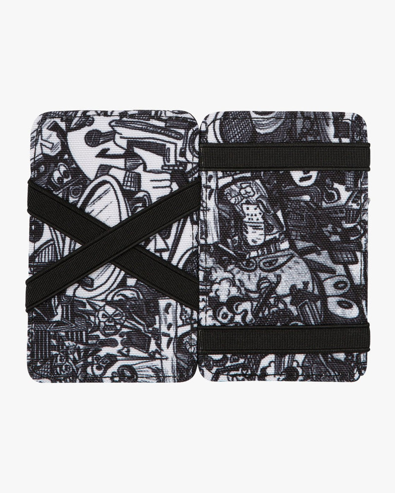 ANP Magic Wallet Black/White