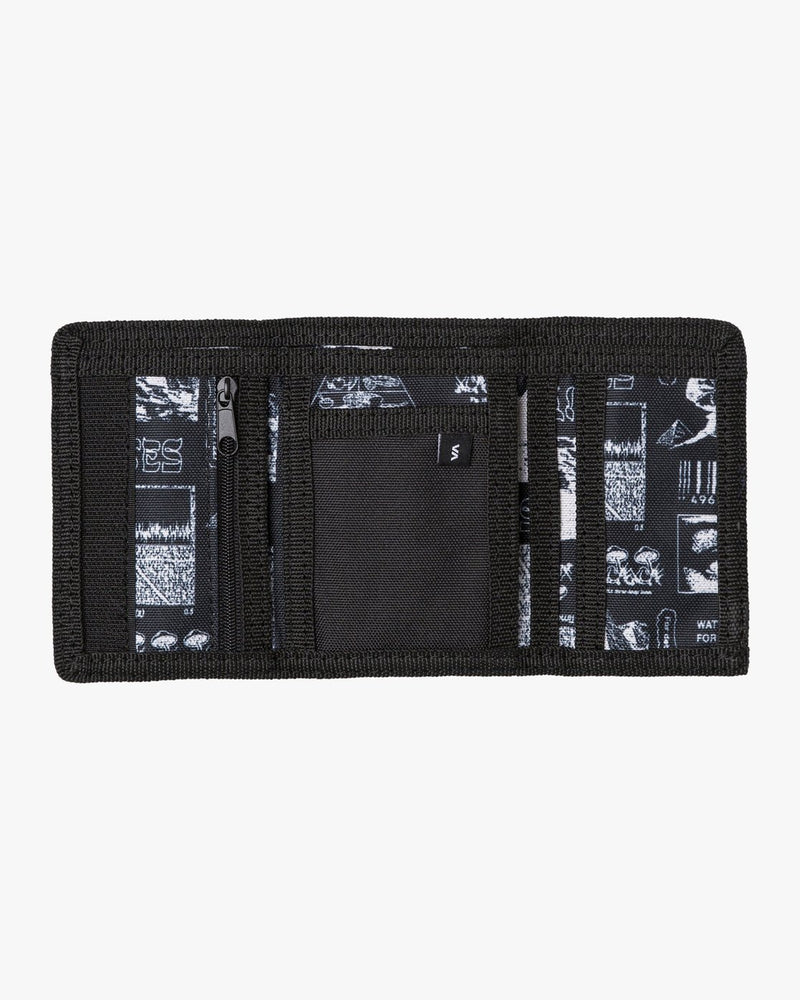 RVCA Print Trifold Wallet Mirage