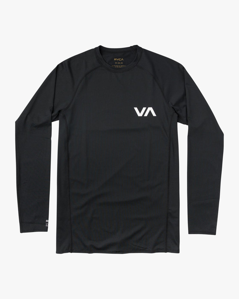Long Sleeve Surf Rashguard Black