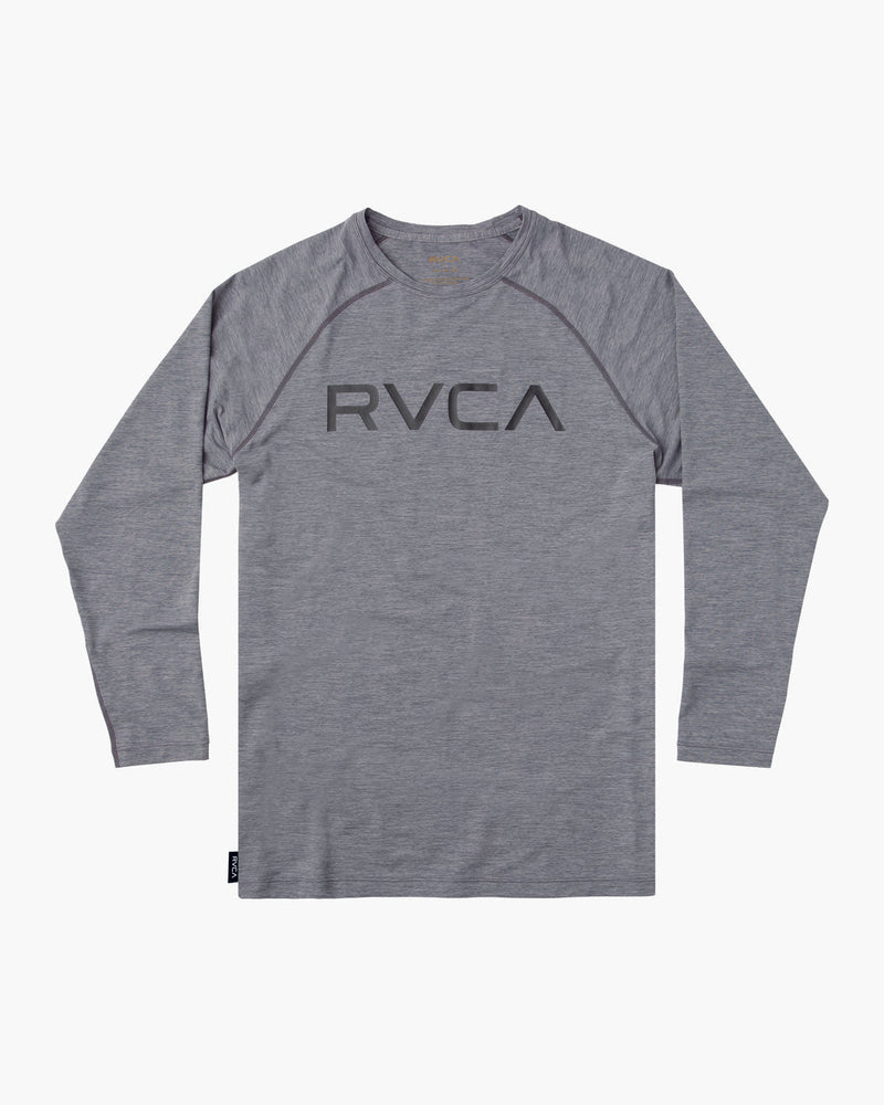 Micro Mesh Long Sleeve Surf Tee Grey Noise