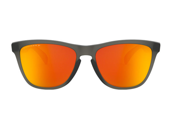 Frogskins Matte Grey Smoke - Prizm Ruby Polarized