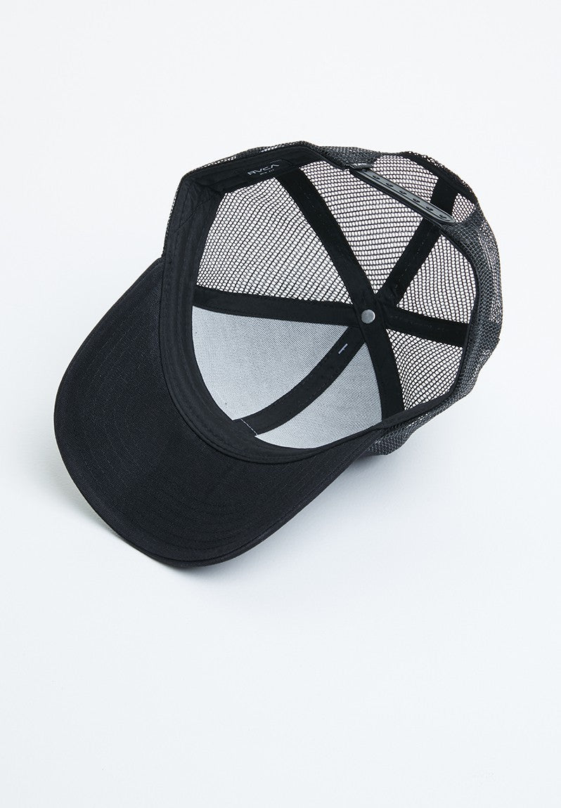 Ticket Trucker II Hat Black