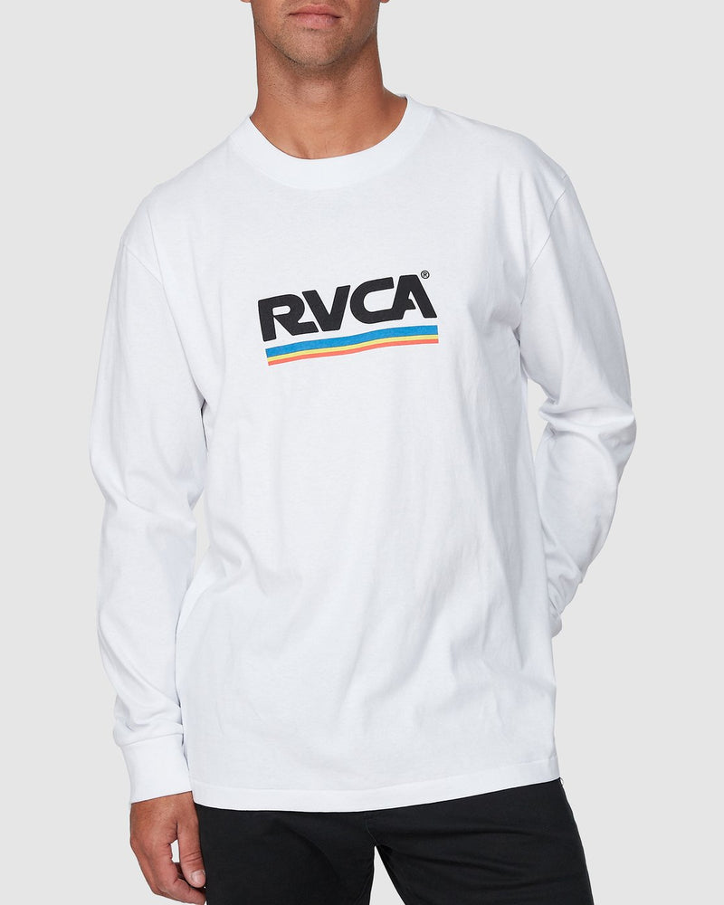 Attacker Long Sleeve Tee White
