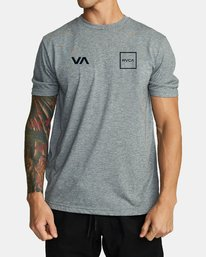 RVCA Lane T-shirt Athletic Heather